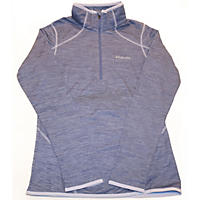 Small - Columbia Women's Sapphire Trail 1/2 Zip, Blue