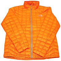 Medium - The North Face Men's Thermoball Full Zip Jacket, Orange