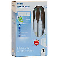 Philips Sonicare HealthyWhite Rechargeable Toothbrush 2 pk., Blue