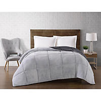 Full/Queen - Brooklyn Loom Comforter, Grey
