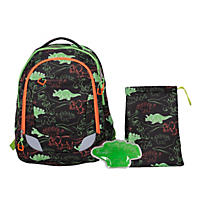 Crckt Youth Backpack, Dinosaur