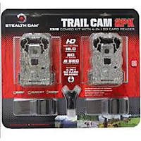 Stealth Cam 2 Pack Game Camera with Card Reader