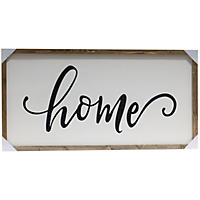 Farmhouse Wood Sign, Home