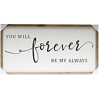 Farmhouse Wood Sign, Forever