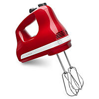 5 Speed Hand Mixer, Red