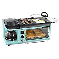 Nostalgia Retro Series 3-in-1 Breakfast Station, Blue