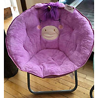 Plush Saucer Chair