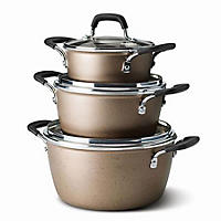 6PC Speckled Copper Cook Set