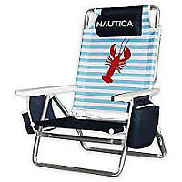 Beach Chair Lobster Paddles & Whale