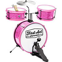 First Act Discovery Drum Set -  Pink