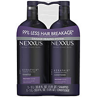 NEXXUS Keraphix Damage Healing Shampoo and Conditioner (2 pk., 33.8 fl. oz.)