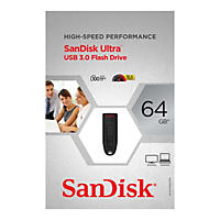 SanDisk Ultra 64GB USB 3.0 Flash Drive