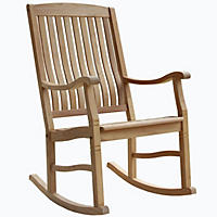 Teak Porch Rocking Chair(a)