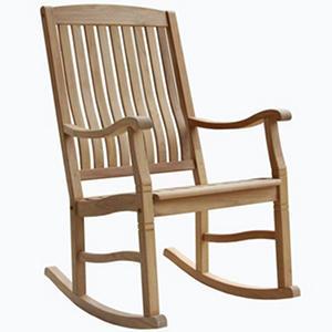 Teak Porch Rocking Chair(a)