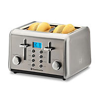 Toastmaster Stainless-Steel 4-Slice Toaster