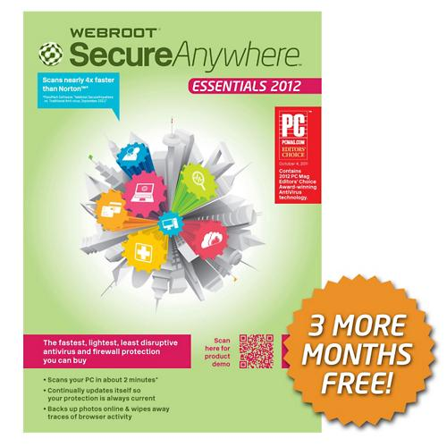 Webroot Is Ess 2012 Security Software | SamsClub com Auctions