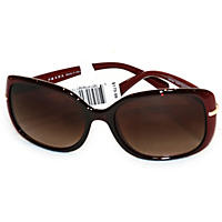Women's Prada Sunglasses PR08OS, Bordeaux