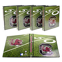 "NCAA Team 1"" College Binders, 4 pack - South Carolina Gamecocks"