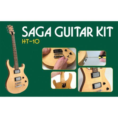 Saga HT-10 Electric Guitar Kit - Double Cutaway