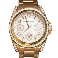 Michael Kors Women's Blair Chronograph Watch