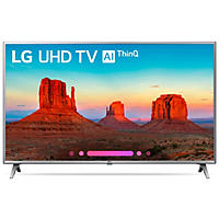 "LG 43"" 4K HDR Smart LED AI UHD TV w/ThinQ-43UK6500AUA"