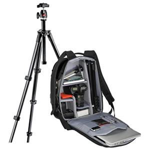 Manfrotto Tripod and DSLR Backpack Bundle