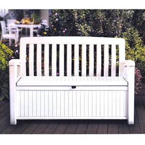 Wondrous Free Shipping Keter Storage Bench Ivory Samsclub Com Gamerscity Chair Design For Home Gamerscityorg