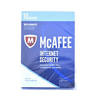 McAfee Internet Security 2017 10 Device Security Software