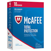 McAfee Total Protection 2017 10 Device Security Software