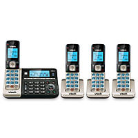 VTech 4 Handset Connect to Cell Cordless Phone System