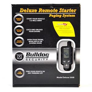 bulldog deluxe remote vehicle starter auctions. Black Bedroom Furniture Sets. Home Design Ideas