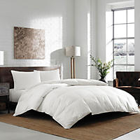 Eddie Bauer White Down Comforter - Queen