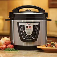Tristar 8 Qt. Power Cooker Plus- Stainless
