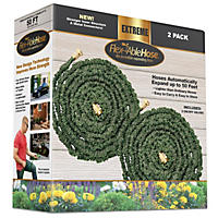 50 Ft. Flexable Hose, 2-Pack