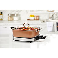 Electric Skillet Copper Chef