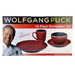 Wolfgang Puck Dinnerware - 16 Pc.  sc 1 st  Samu0027s Club Auctions & Wolfgang Puck Dinnerware - 16 Pc. | SamsClub.com Auctions