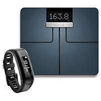 (Free Shipping) Garmin Fitness Bundle Index Smart Scale and Vivosmart HR Bundle