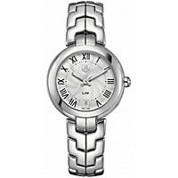 Tag Heuer Stainless Steel Roman Numeral Link Watch