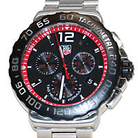 Men's Tag Heuer Quartz Chronograph Stainless Steel Watch