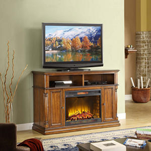 Whalen Harrison Electric Fireplace TV Console  | SamsClub.com Auctions