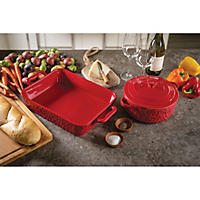 3pc Bake Set-Red