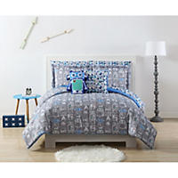 Full - Laura Hart Kids' Robot Bedding Set