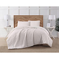 Antik Batik Quilted Top Bedding Collection - Queen White
