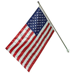 American Flag Kit - 3X5 Flag with Aluminum Pole