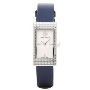 Women's Tory Burch Buddy Watch, Navy