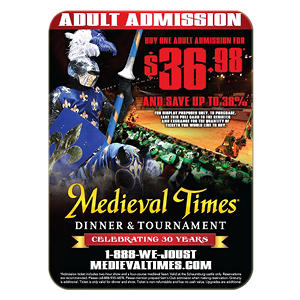 medieval times gift card chicago il 1adult movie