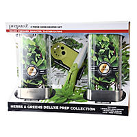 Prepara 4-Piece Herb Keeper Set