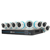 EZVIZ 16-Channel 4MP NVR Surveillance System with 3TB Hard Drive, 8-Cameras 4MP Indoor/Outdoor Cameras