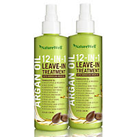 Nature Well 12-in-1 Leave-In Treatment with Moroccan Argan Oil (8 fl. oz., 2 pk.)
