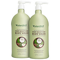 Nature Well Mega Nutrients Deep Moisture Body Wash 33.8 fl. oz., 2 Pk